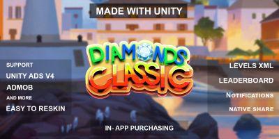 Diamonds Classic - Full Unity Project