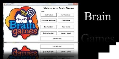 Brain Games .Net Full Application Source Code