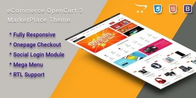 Luca - Multipurpose eCommerce OpenCart 3 Theme