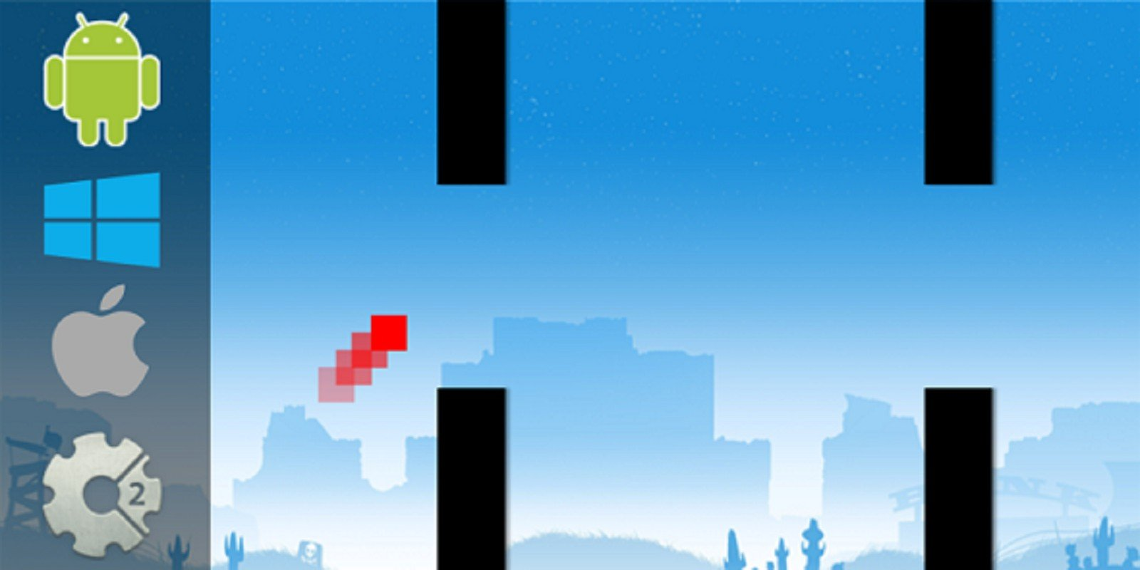 Flappy Block - HTML5 Game Construct 2
