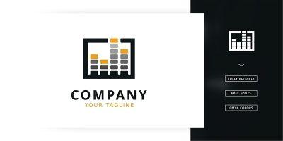 Music Box Logo Template