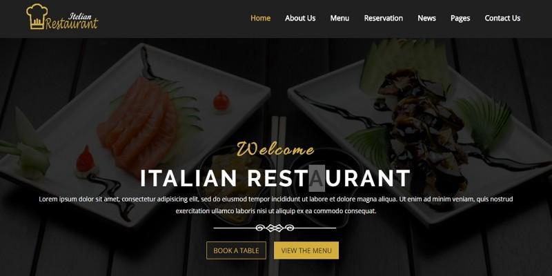 Itelian - HTML5 Restaurant Template