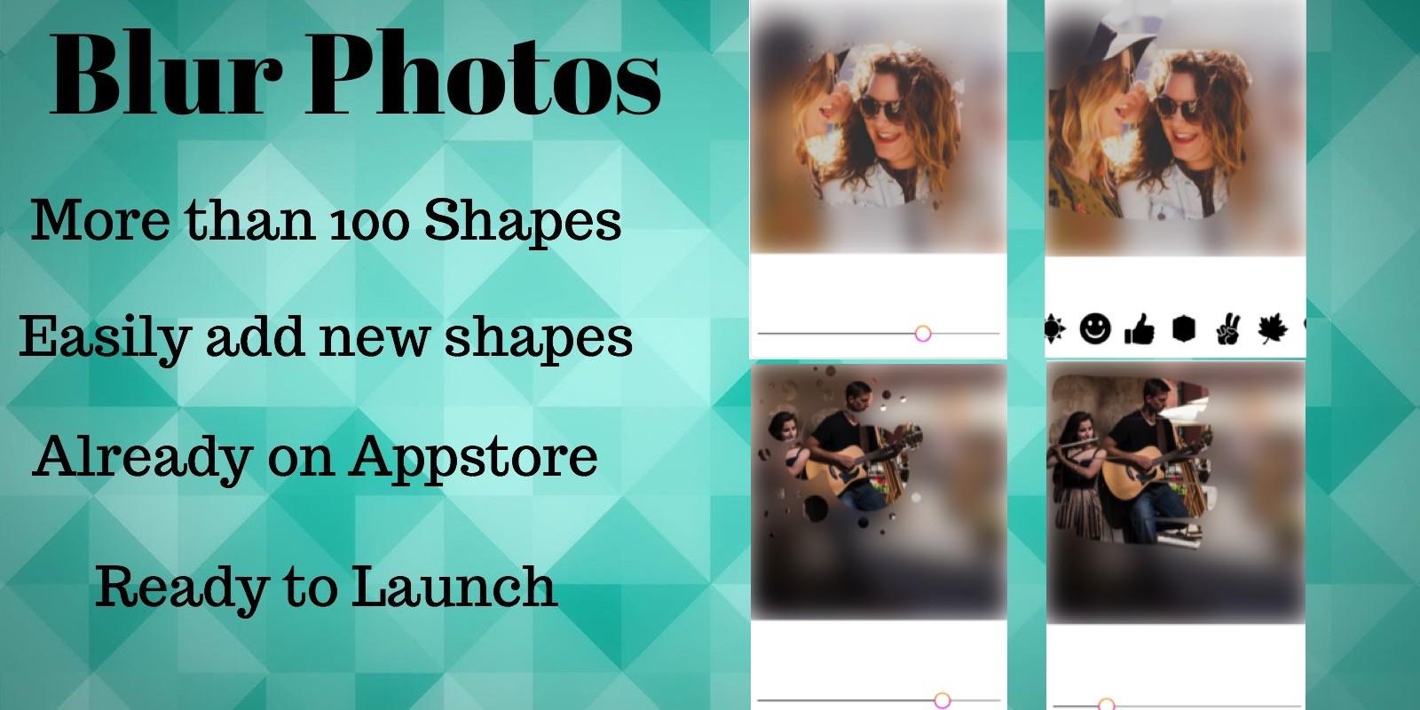 Blur Photos - iOS App Source Code