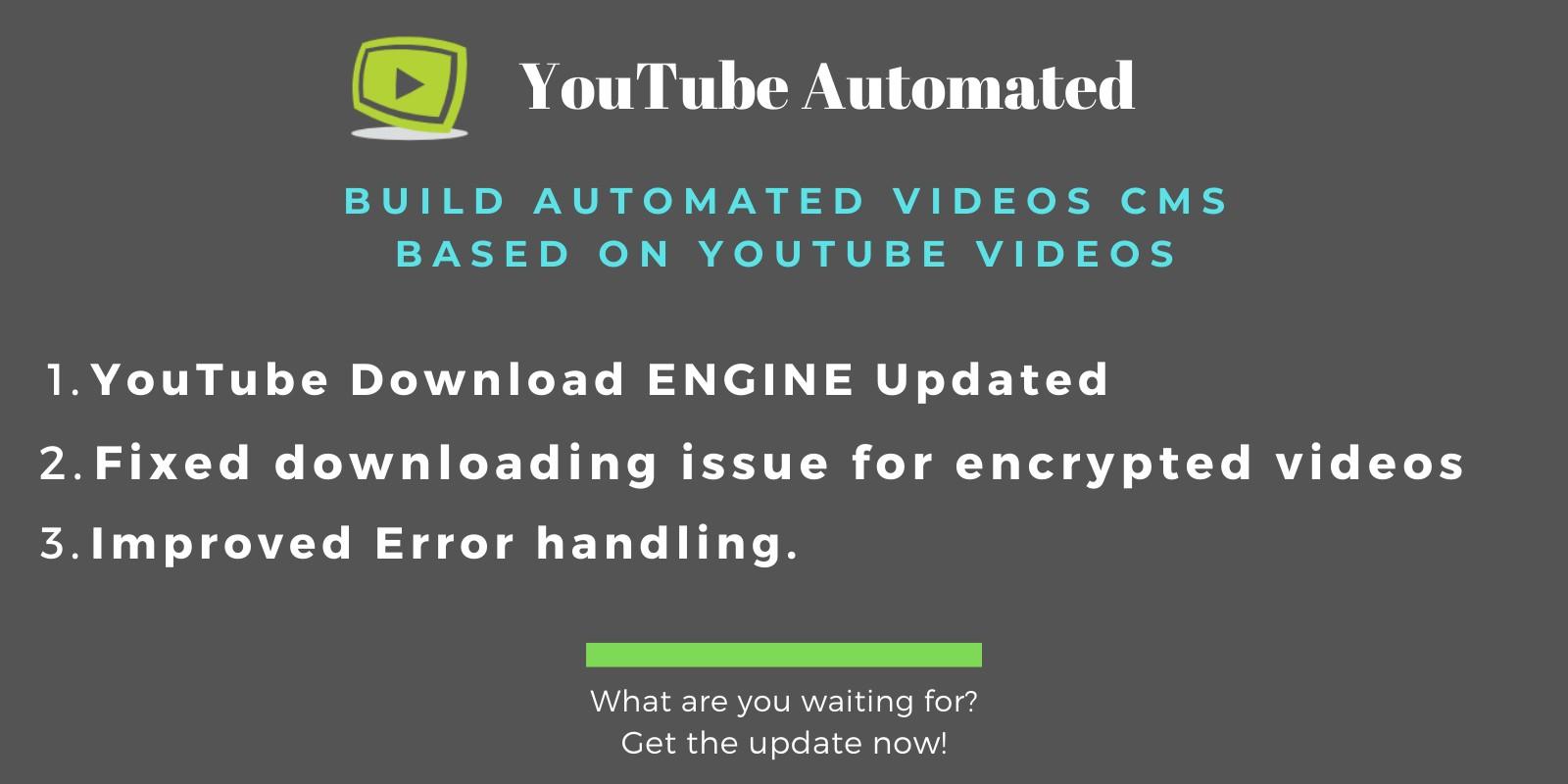 Autopilot Youtube Videos CMS - Youtube Automated