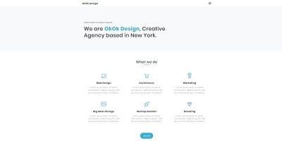 OkOK Design HTML5 Creative Portfolio Template