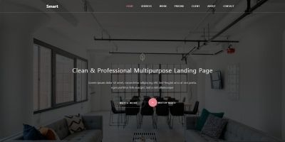Smart - Responsive Bootstrap 4 Business and Agency