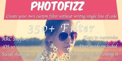 Photofizz - iOS App Source Code
