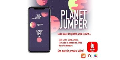 Planet Jumper iOS Source Code