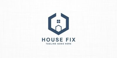 House Fix - Logo Template