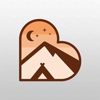 Love Camping Logo Template