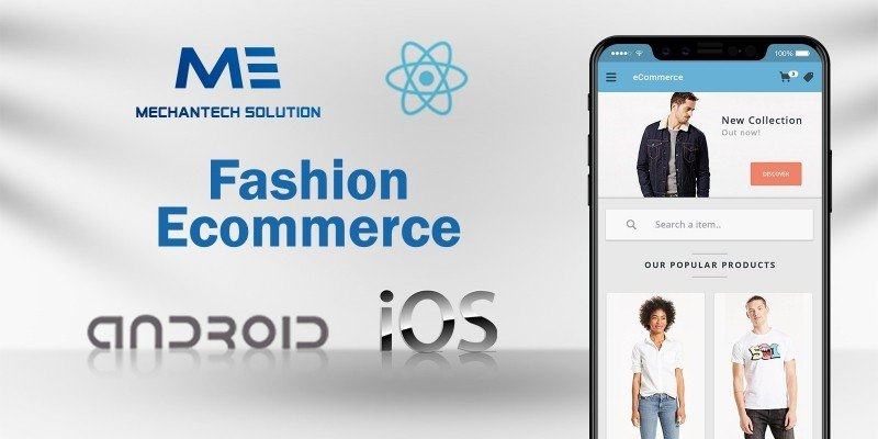 Fashion Commerce - React App Template