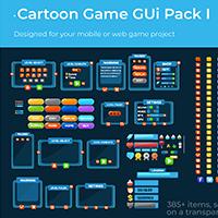 Cartoon Game Gui Pack 1