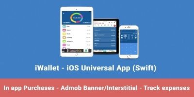 iWallet - Smart Wallet iOS Source Code