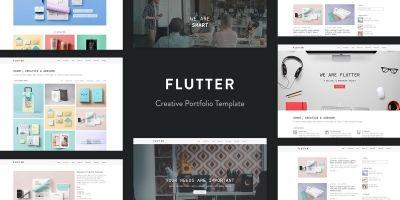 Flutter - Creative Portfolio Template