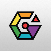 G Letter Hexagon Logo