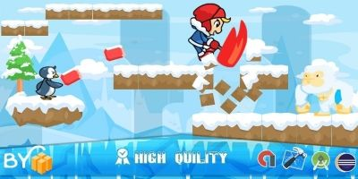 Ice Climber game - Template buildbox