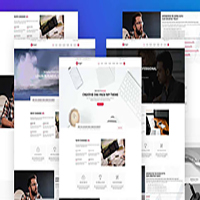 Monger - One Page Corporate WordPress Theme