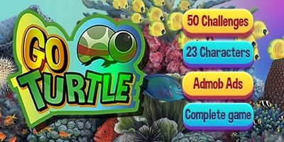 Go Turtle - Buildbox Templates Full Game Pack
