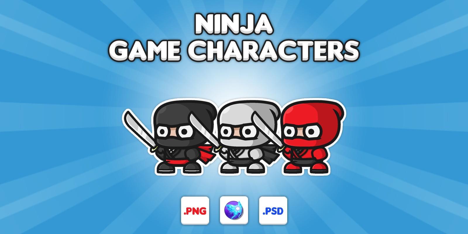 Ninja Chibi Characters
