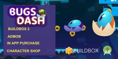 Bugs Dash - Buildbox Adventure Game