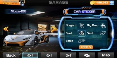 Racing Game Graphics CxS - GUI Skin 3