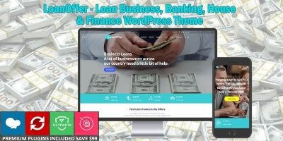 LoanOffer - Business Loan WordPress Theme