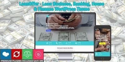 LoanOffer - Business Loan WordPress Theme