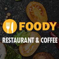 Foody -  Restaurant  WordPress Theme
