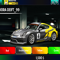 Racing Game Graphics CxS - GUI Skin 6