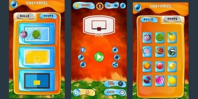Basket Ball Game Skin Pack 3