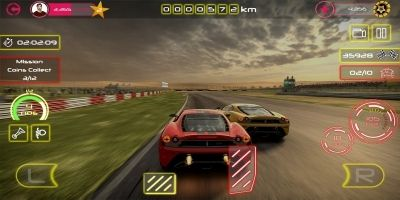 Racing Car Game UI Template Pack 2