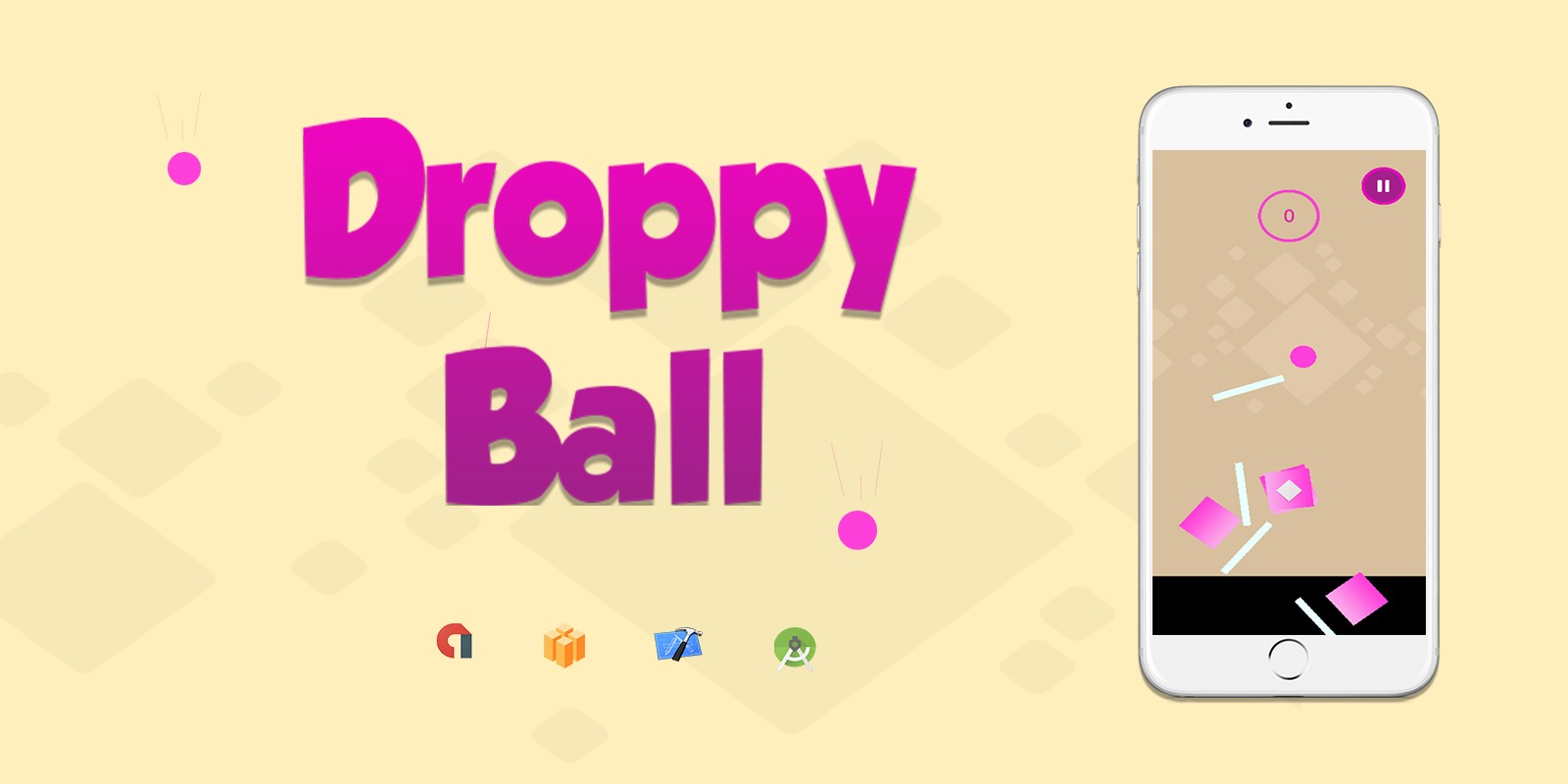 Droppy Ball - Buildbox Game Template