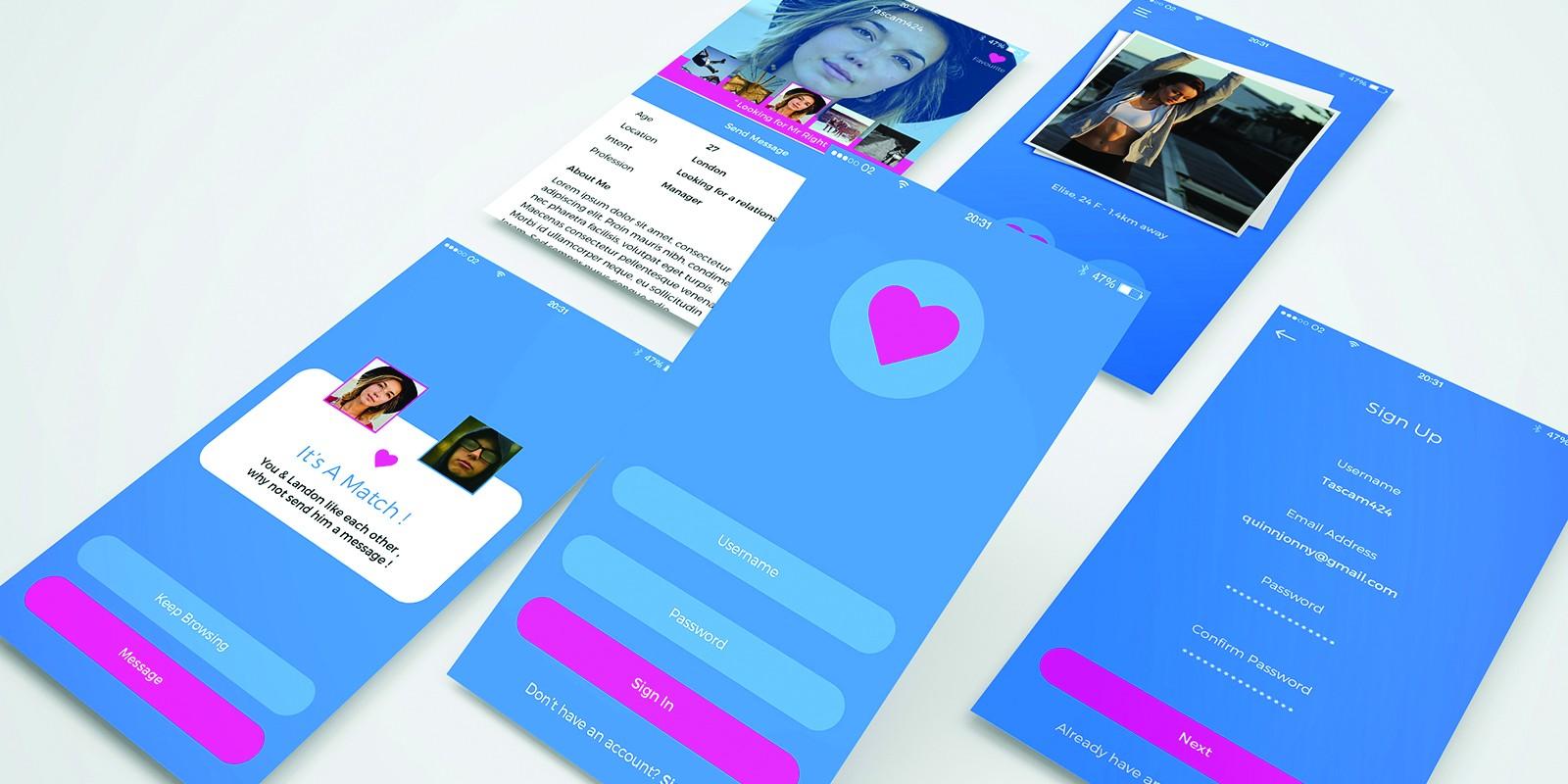 Dating App UI Kit