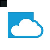 Box Cloud Logo Template