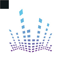 Electro Music Logo Template
