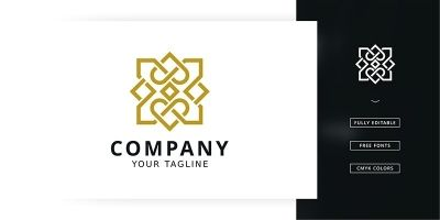 Luxury Flower Logo Template