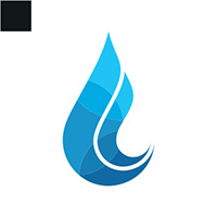 Water Flow Logo Template
