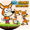 fox-2d-game-character-sprites