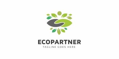 Eco Partner Logo Template
