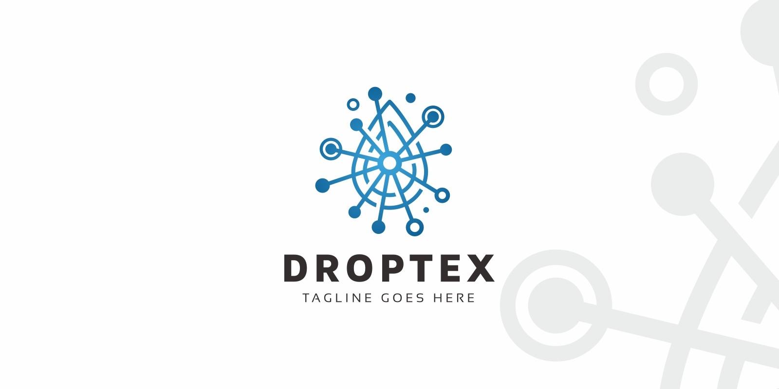 Drop Technology Logo Template