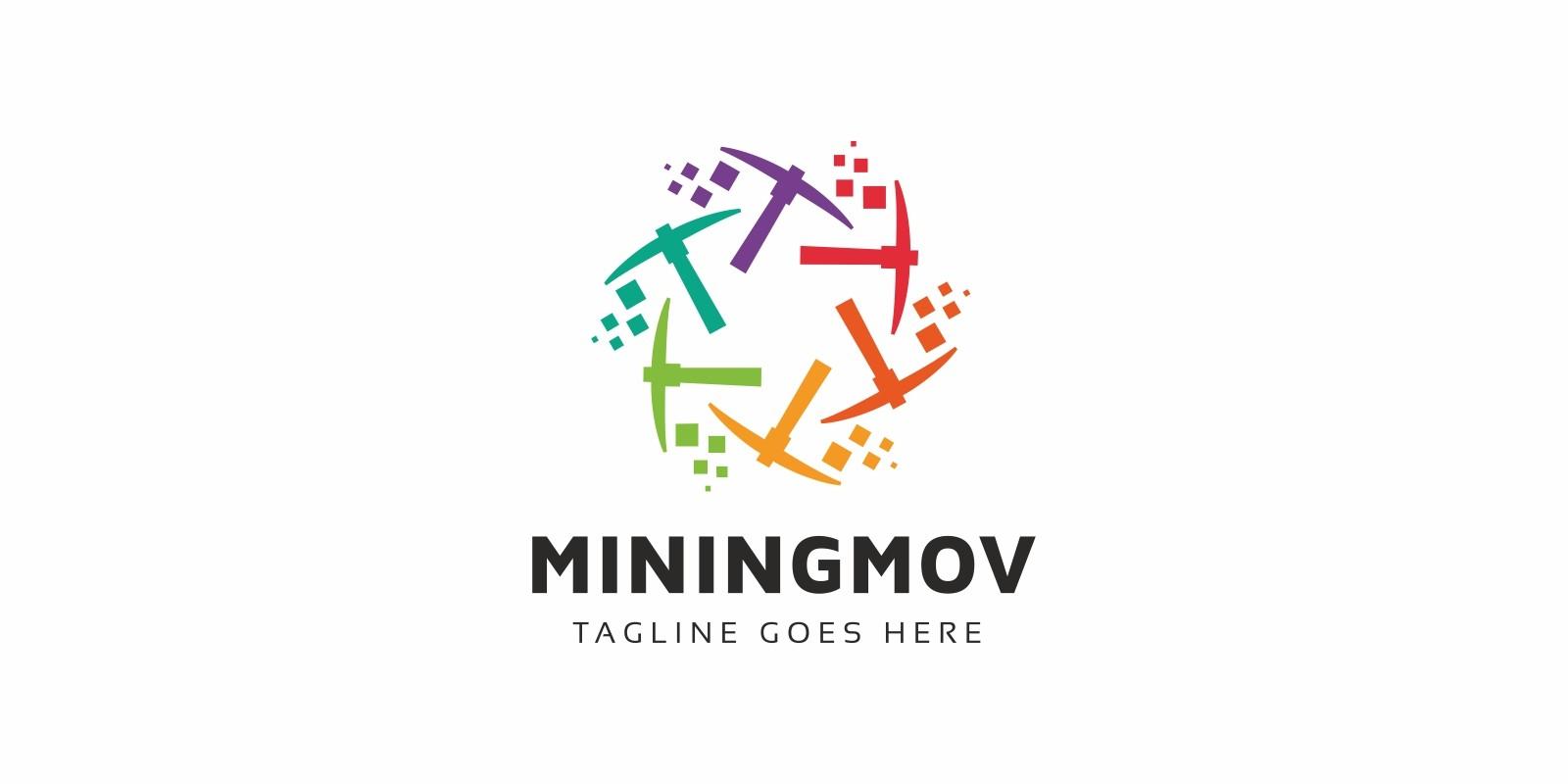 Mining Move Bitcoin Logo