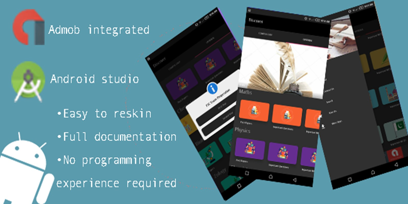 Exam Preparation App Android Source Code