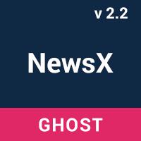 NewsX - Responsive News Ghost Theme