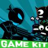 ninja-shadow-silhouette-themed-game-kit