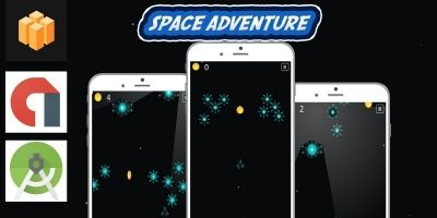 Space Adventure Buildbox Game