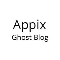 Appix -  Minimal Responsive Ghost Theme
