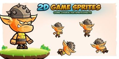 Orcs 2D Game Character Sprites