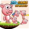 piggy-2d-game-character-sprites