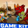 cowboy-vs-dragon-desert-theme-gamekit