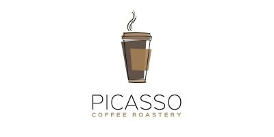 Picasso Coffee Logo Template